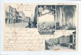AK - Gruss Aus Brandenburg An Der Havel - 4 Ansichten - Gelaufen 14.5.1906 - Brandenburg