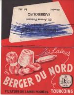Calendrier Petit Format - Les Laines Du Berger Du Nord - Sarrebourg - Calendriers