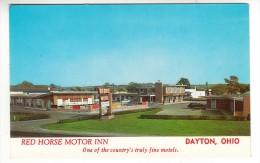 Etats Unis - Red Horse Motor Inn - One Of The Country's Truly Fine Motels - Dayton, Ohio - Dayton