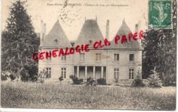 79 - CHAMPDENIERS- GERMOND - CHATEAU DU LUC PAR CHAMPDENIERS - Champdeniers Saint Denis