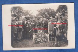 CPA Photo - HAM Sur HEURE - Enterrement D'un Soldat Français Pendant La Grande Guerre WW1 - TOP RARE - Voir Zoom - Ham-sur-Heure-Nalinnes