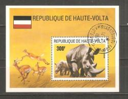 Hb- 5G  Haute-volta - Rinocerontes