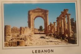 Carte Postale  LEBANON TYRE THE ROMAN ARCH OH TRIUMPH - Libanon