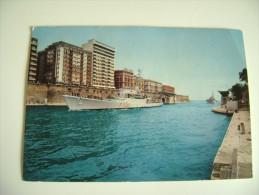 TARANTO   NAVE  I  SHIP   MARINA  MILITARE  WARSHIP NON  VIAGGIATA COME DA FOTO AFFRANCATA  PIEGOLINA ANGOLO - Guerra