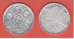 Belgio  500 Francs 1980  Belgique Belgium - 1951-1993: Baudouin I