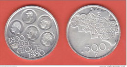 Belgio  500 Francs 1980  Belgique Belgium - 1951-1993: Baldovino I
