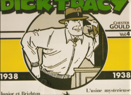 Dick Tracy Par Chester Gould 1938 Volume N°4 De 1984 Editions Futuropolis - Livres, BD, Revues