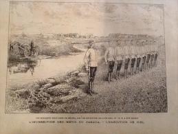 1885 INSURRECTION DES M�TIS AU CANADA - EX�CUTION DE LOUIS RIEL - GUERRE DES BALKANS