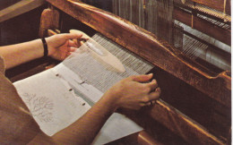 KENTUCKY Crafts, Finger Weaving, Hand Weaving A Towel, Berea College, 40-60s - Sonstige