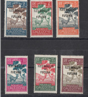 Wallis & Futuna Timbres Taxe  6 Différents - Postage Due