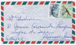Moçambique, 1966, Lourenço Marques-Vila Praia De Âncora - Mozambique