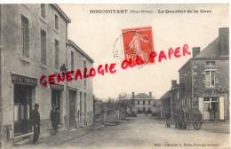 79 -  MONCOUTANT - LE QUARTIER DE LA GARE - HOTEL CHARRIER - Moncoutant