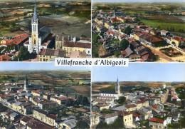 Villefranche D'Albigeois - Multivue Aérienne - Villefranche D'Albigeois