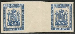 Franquicias Postales Militares 29s+28s ** - Franquicia Militar