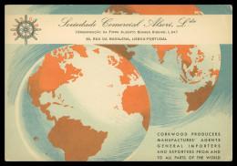 PORTUGAL - PUBLICIDADE - Sociedade Comercial Alsori Lda. Carte Postale - Portugal