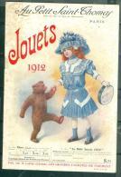 """Catalogue """" Au Petit SAINT THOMAS PARIS JOUETS 1912  34 PAGES ? BON ETAT Moda12 - Livres, BD, Revues"""