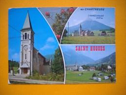 Cpsm SAINT PIERRE DE CHARTREUSE  -  38  -  SAINT HUGUES  -  Multivues  -  Isère - Otros Municipios