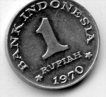 Indonesia 1 Rupiah 1970