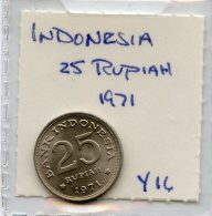 Indonesia 25 Rupiah 1971