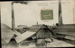 CPA ECOMMOY  , Usine De Bezonnais , Fours (DESNOS FRERES ) - Ecommoy
