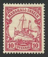 Marshall Islands, 10 Pf.  1901, Sc # 15, Mi # 15, MH - Colony: Marshall Islands