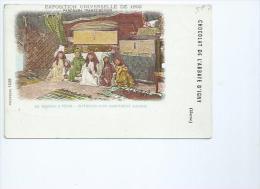 Paris.Exposition Universelle De 1900 Panorama Transsibérien,chocolat De L'abbaye D'Igny - Expositions