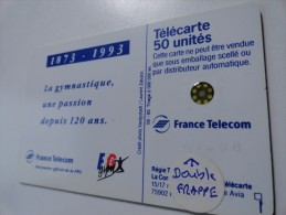 RARE : E LUSSAC DOUBLE FRAPPE NUMEROTATION SUR 50U SC5 USED CARD - France