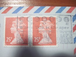 Great Britain. 1996.  Watford. Postal  Cover  To Ukraine. - 1952-.... (Elizabeth II)