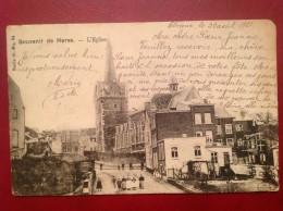 Belgique HERVE Souvenir De L'Eglise DND - Herve