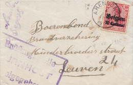 Arendonck, 1915, Censuur Turnhout - [OC1/25] Gouv. Gén.