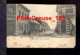 "BELGIQUE - FRAMERIES - "" Rue Du Centre - Animation "" - CARTE PRECURSEUR - Frameries"