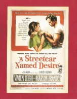 """Postcard   (PC85) , """"  A Streetcar Named Desire """" - REPRO - 2 Scan - - Posters On Cards"""