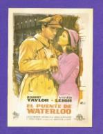 """Postcard   (PC69) , """"  El Puente De Waterloo """" - REPRO - 2 Scan - - Manifesti Su Carta"""