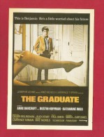 """Postcard   (PC73) , """"  The Graduate  """" - REPRO - 2 Scan - - Posters On Cards"""