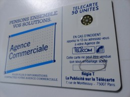 RARE : DOUBLE FRAPPE NUMEROTATION SUR 600 AGENCES 50U SC4 USED CARD - Varietà