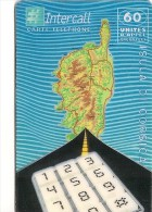 CARTE-PREPAYEE-INTERCALL- 60U-CORSICA-31/12/2000-GRATTE-TBE - Prepaid Cards: Other