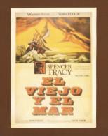 """Postcard   (PC66) , """"  El Viejo Y El Mar  """" - REPRO - 2 Scan - - Posters On Cards"""