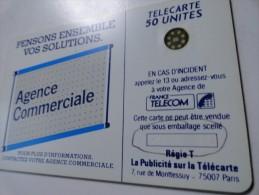 RARE : DOUBLE  NUMEROTATION 4 CHIFFRES  ET 5 CHIFFRES SUR 600 AGENCES 50U SC4 USED CARD - Variëteiten