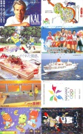 JOLI LOT Collection De + De 7000 TELECARTES Japon (LOT 579)  Thèmes Très Variés * 7000 Japan Phonecards Telefonkarten - Telefonkarten