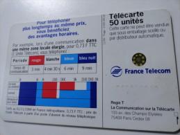 RARE : DECALAGE SUR SOLEIL ROUGE 2 SC5 50U USED CARD - Variëteiten