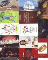 JOLI LOT Collection De + De 7000 TELECARTES Japon (LOT 584)  Thèmes Très Variés * 7000 Japan Phonecards Telefonkarten - Collezioni