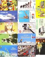 JOLI LOT Collection De + De 7000 TELECARTES Japon (LOT 586)  Thèmes Très Variés * 7000 Japan Phonecards Telefonkarten - Tarjetas Telefónicas