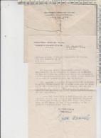 Lettera + Busta Orfanotrofio Israelitico Italiano Giuseppe E Violante Pitigliani 1950 Timbro Anno Santo - Documents Historiques