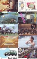JOLI LOT Collection De + De 14000 TELECARTES Japon (LOT 592)  Thèmes Très Variés * 14000 Japan Phonecards Telefonkarten - Telefonkarten