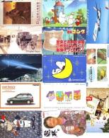 JOLI LOT Collection De + De  7000 TELECARTES Japon (LOT 594)  Thèmes Très Variés * 7000 Japan Phonecards Telefonkarten - Télécartes