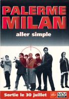 Spectacle-Cinema-Affiche Sur Carte- PALERME MILAN  Film De Claudio Fragasso *PRIX FIXE - Cinema
