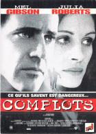 Spectacle-Cinema-Affiche Sur Carte- COMPLOTS (2) Mel Gibson Julia Roberts Film De Richard Donner *PRIX FIXE - Cinema