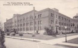 California Los Angeles The Physics Biology Building University Of California At Los Angeles Albertype