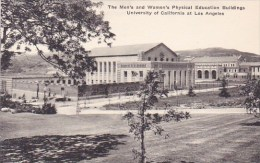 California Los Angeles The Mens And Womens Physical Education Building University Of California At Los Angeles Albertype