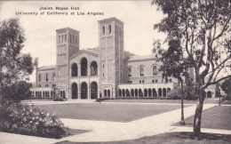 California Los Angeles Josiah Royce Hall University Of California At Los Angeles Albertype